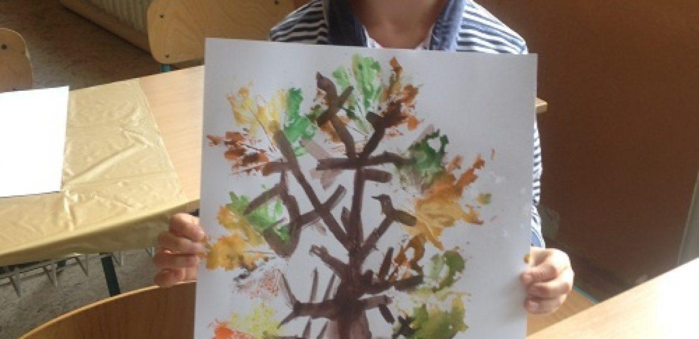 Jesenné stromy
