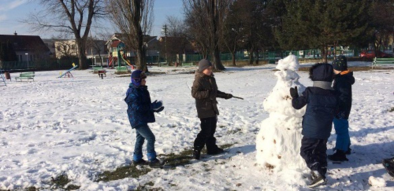 Telocvik v zime
