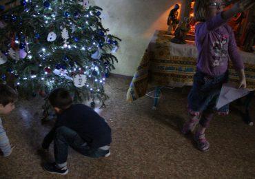 Vianočná hra s anjelikom