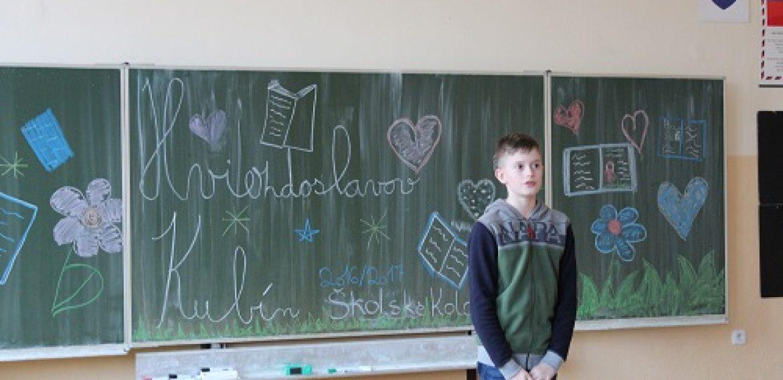 Školské kolo Hviezdoslavov Kubín