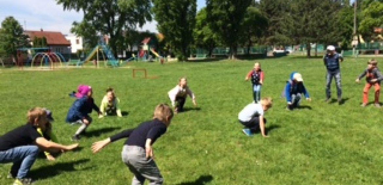 Rozcvička v parku