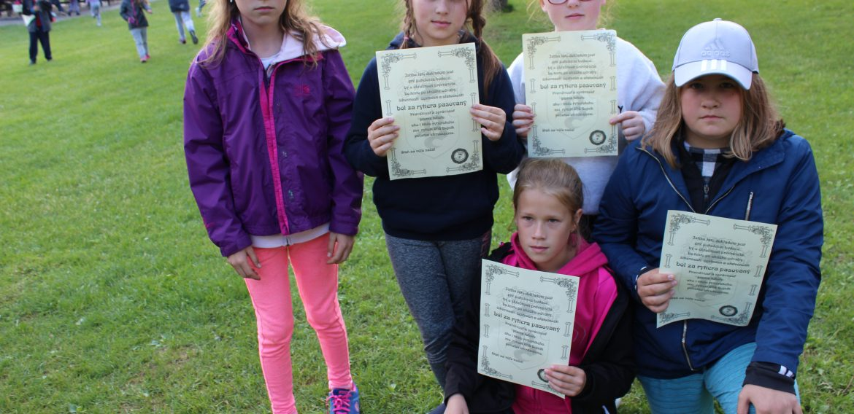 Škola v prírode – Kľačno