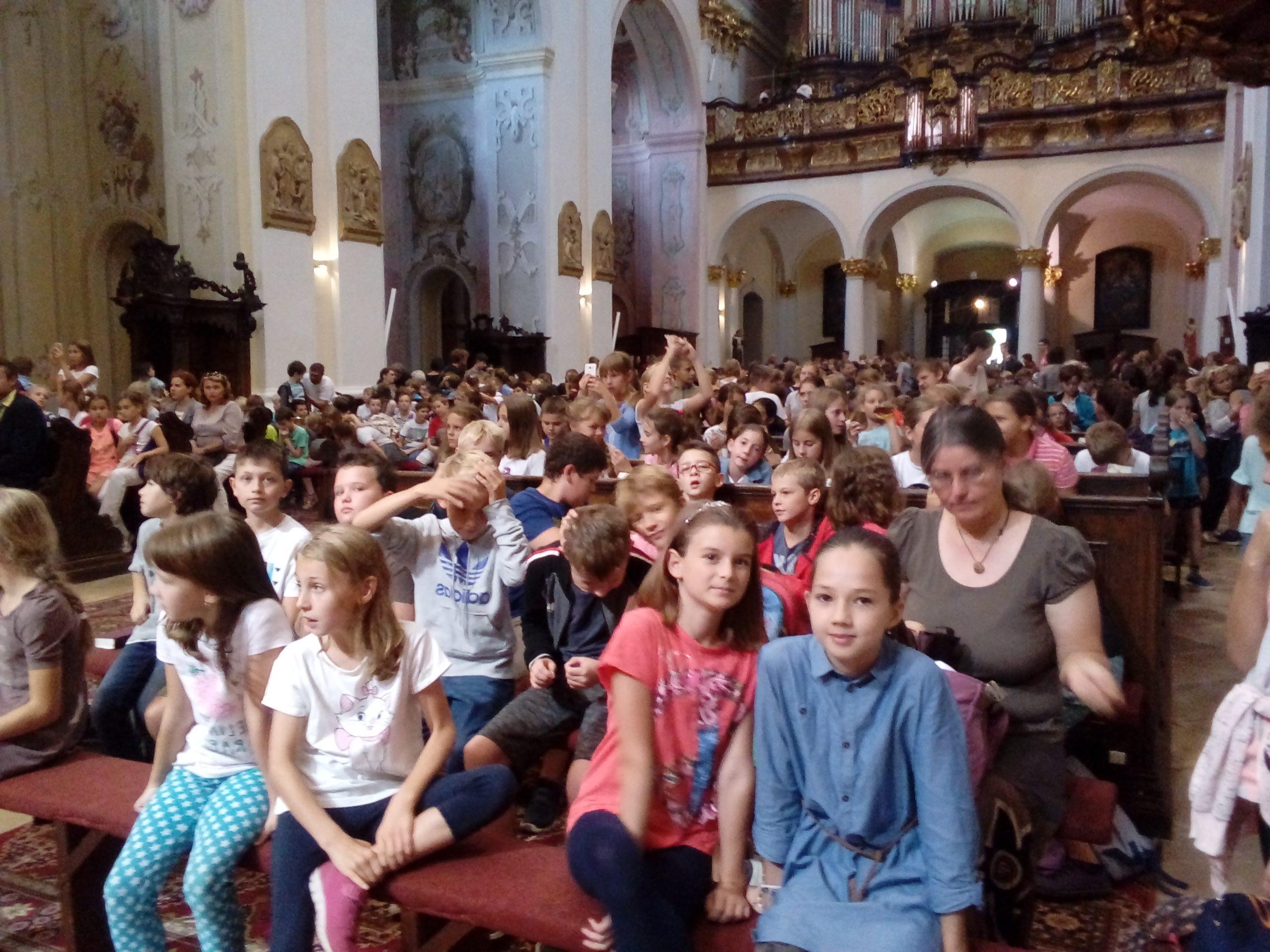 Púť cirkevných škôl v Šaštíne