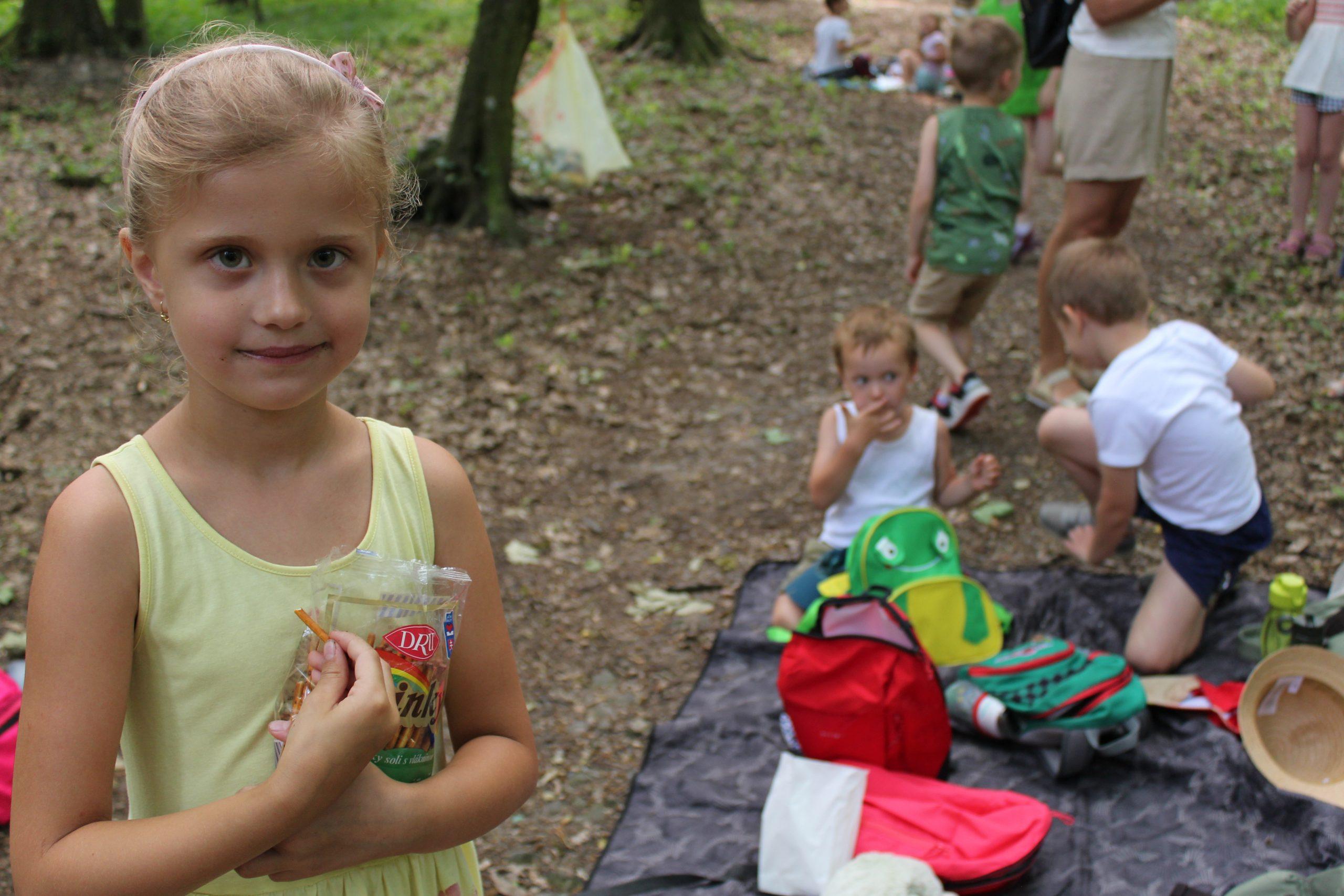Výlet materskej školy na Červený Kameň